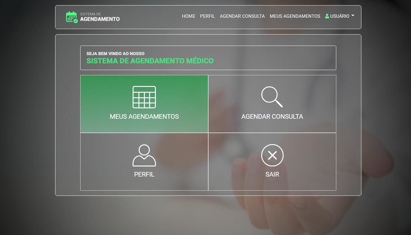 SISTEMA DE AGENDAMENTO MÉDICO- ÁREA DO CLIENTE