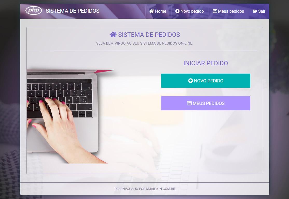 SISTEMA DE PEDIDOS - CLIENTE: